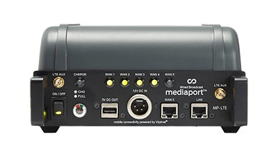 mediaport lte ip bonded router